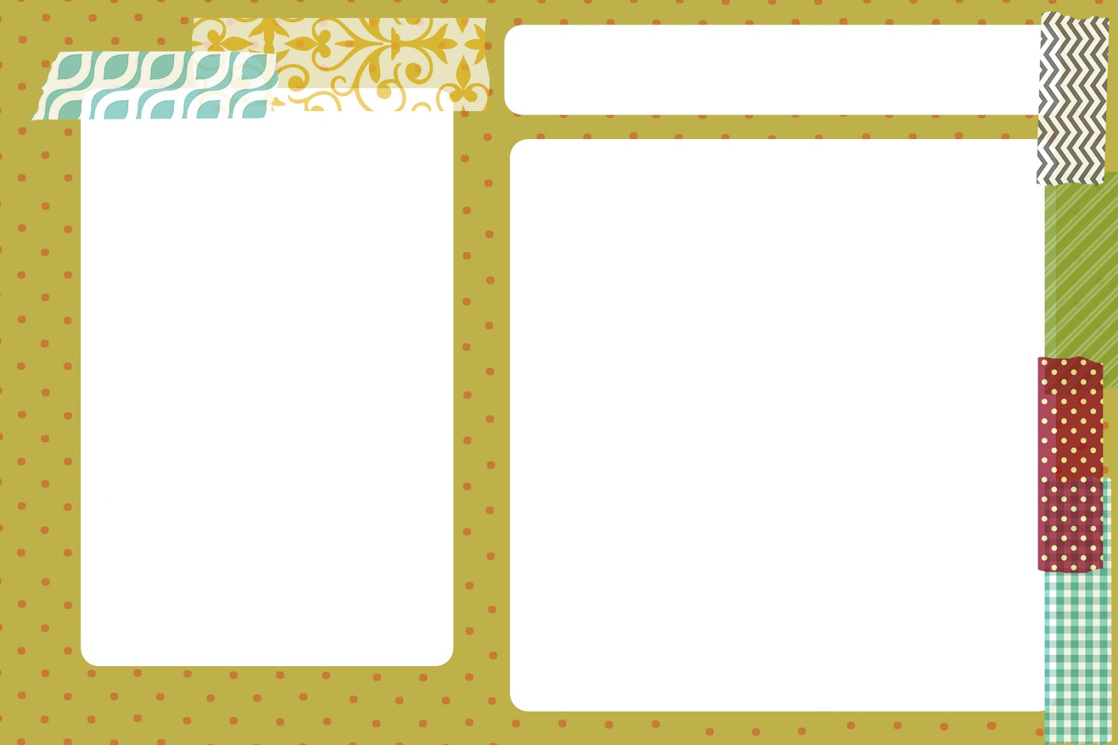 My 3 Monsters: Printable Recipe Card Templates