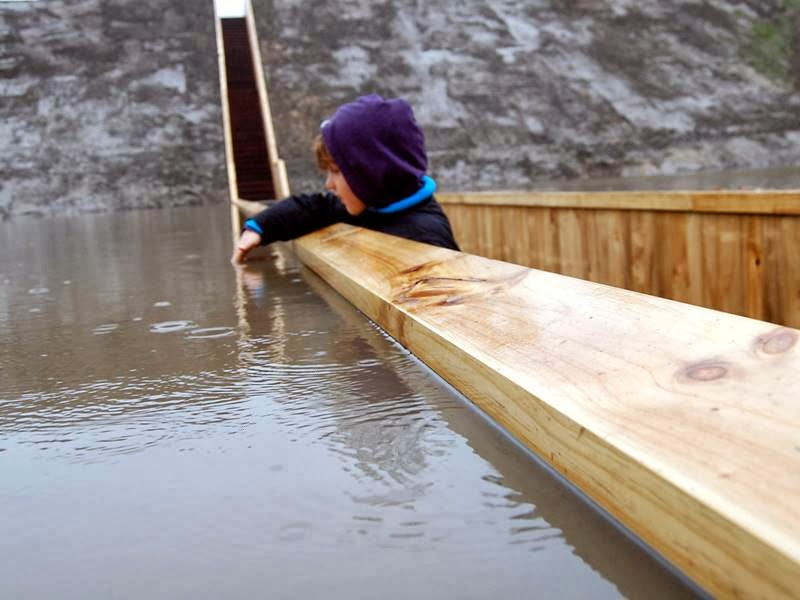 The Moses Bridge or Loopgrafburg (Trench Bridge)
