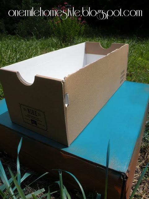 Shoebox Storage - Before
