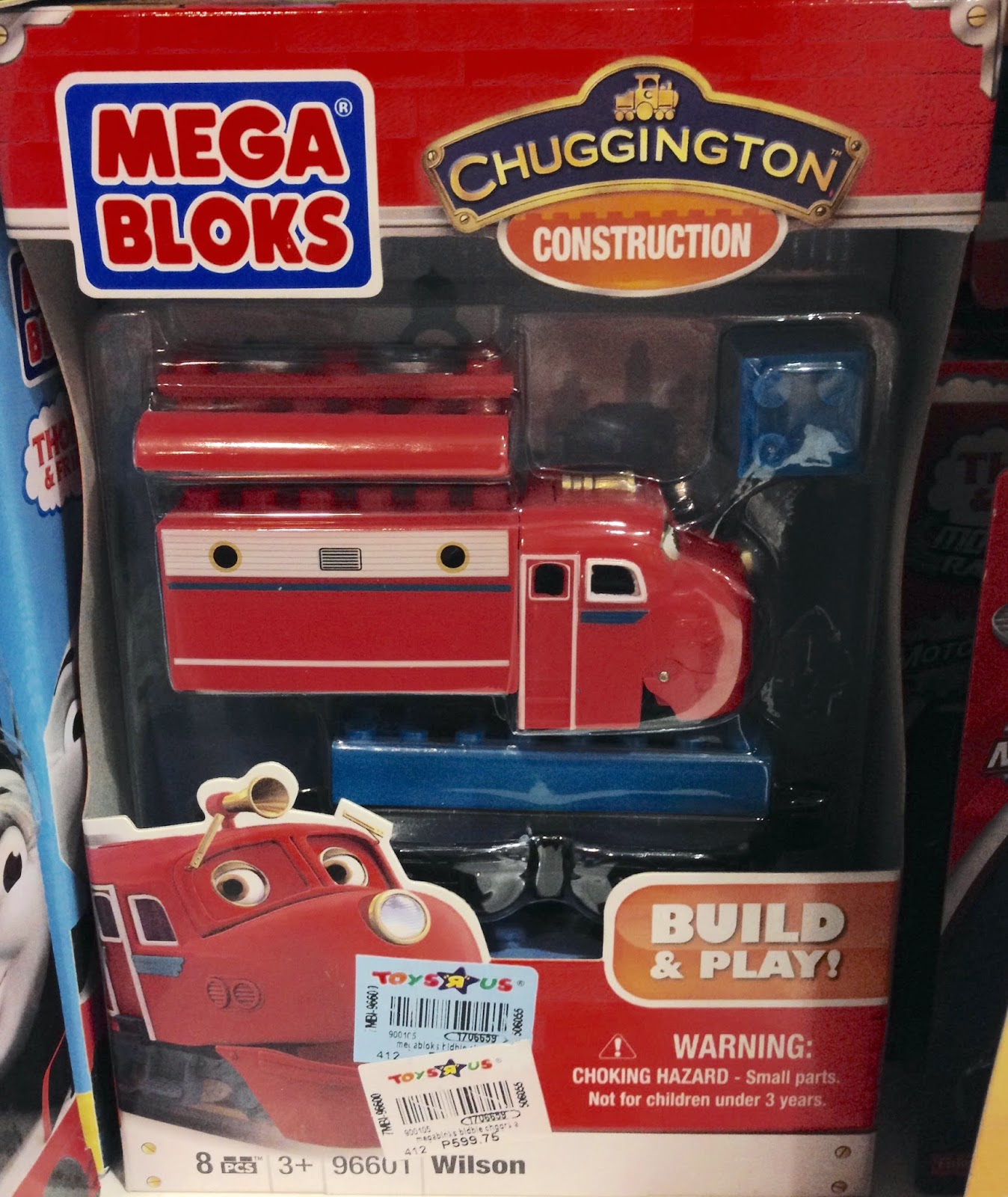 Mega Bloks Chuggington Trains Toy Sale - Wilson