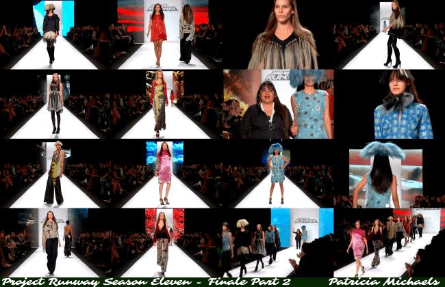 Patricia Michaels' 12 look collection Project Runway Season 11 - Finale Part 2 jiveinthe415.com