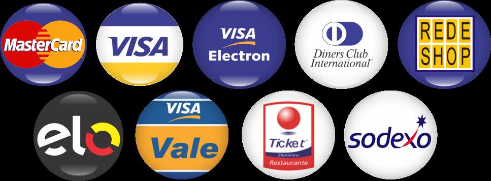 Compre com Cartão de Crédito