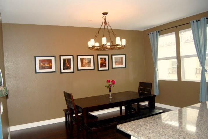 Wall paint ideas for dining room for Dining room wall picture ideas
