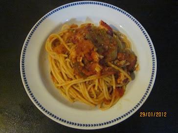 Spaghetti all'astice alla Gordon
