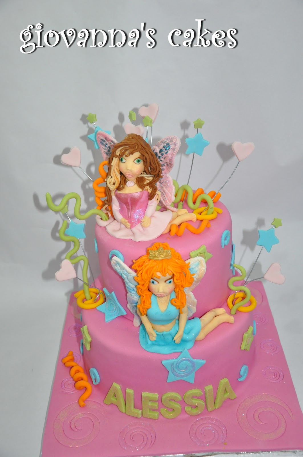 Cake Design Winx : winx cake ideas on Pinterest Fairy Cakes, Hands and Cake ...