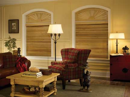 About window blinds arched window blinds voguish window for Motorized shades for arched windows