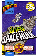 Mini Adventure Comics #2<br>Alien Space Hulk
