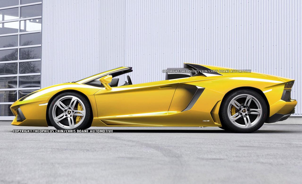 Lamborghini aventador roadster 2013