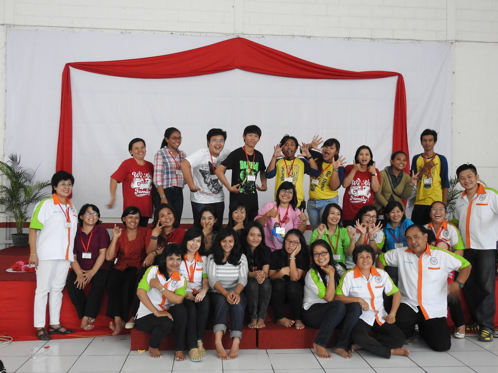 Bersama pendamping PIA paroki St.Yosep Purbalingga 30 April--Mei 2016