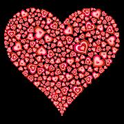 Estamos em Fevereiro, o mês do Amor. As montras das lojas enchemse de . (coracoes)