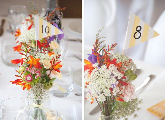 DIY garden wedding, details at www.fivekindsofhappy.com