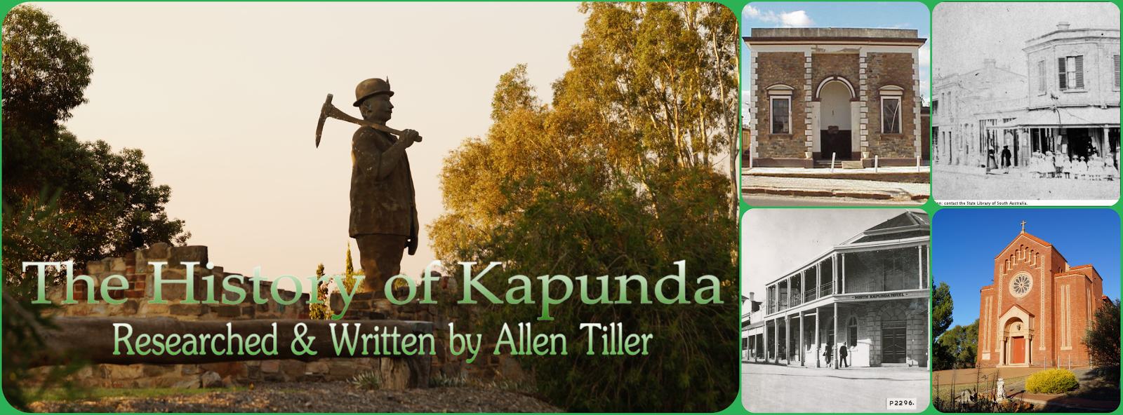 The History of Kapunda