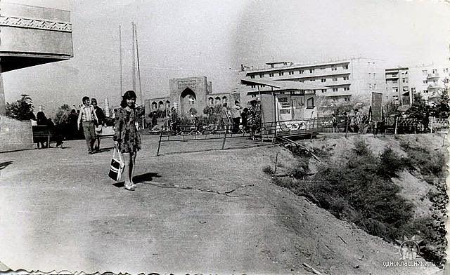1976г Чорсу. Ташкент