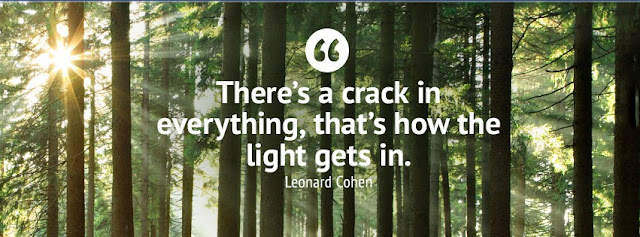 facebook timeline cover quotes Leonard Cohen