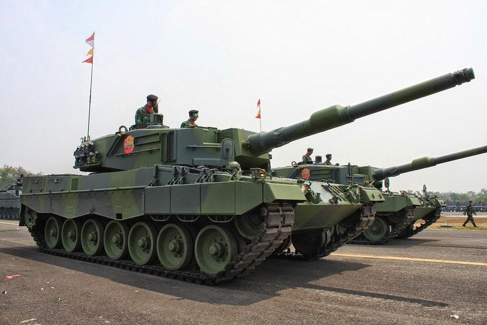 Kehadiran Tank Leopard Membuat Indonesia Sejajar Negara Lain