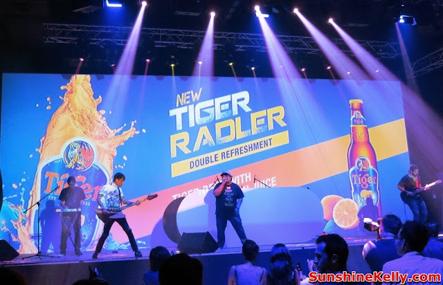 Tiger Radler, Double Refreshment, tiger beer malaysia, tiger beer, party, kl live, live band, one buck short