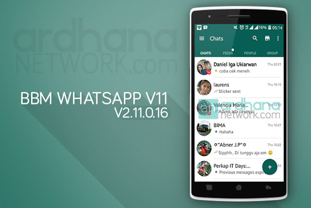BBM Whatsapp V11 - BBM Android V2.11.0.16
