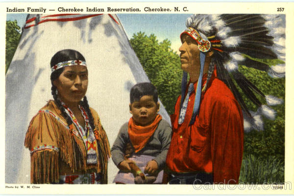 Cherokee Red Paint Clan
