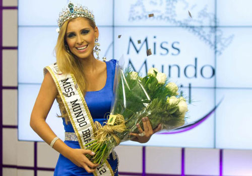 Mariana Notarangelo : Miss World Brazil 2012