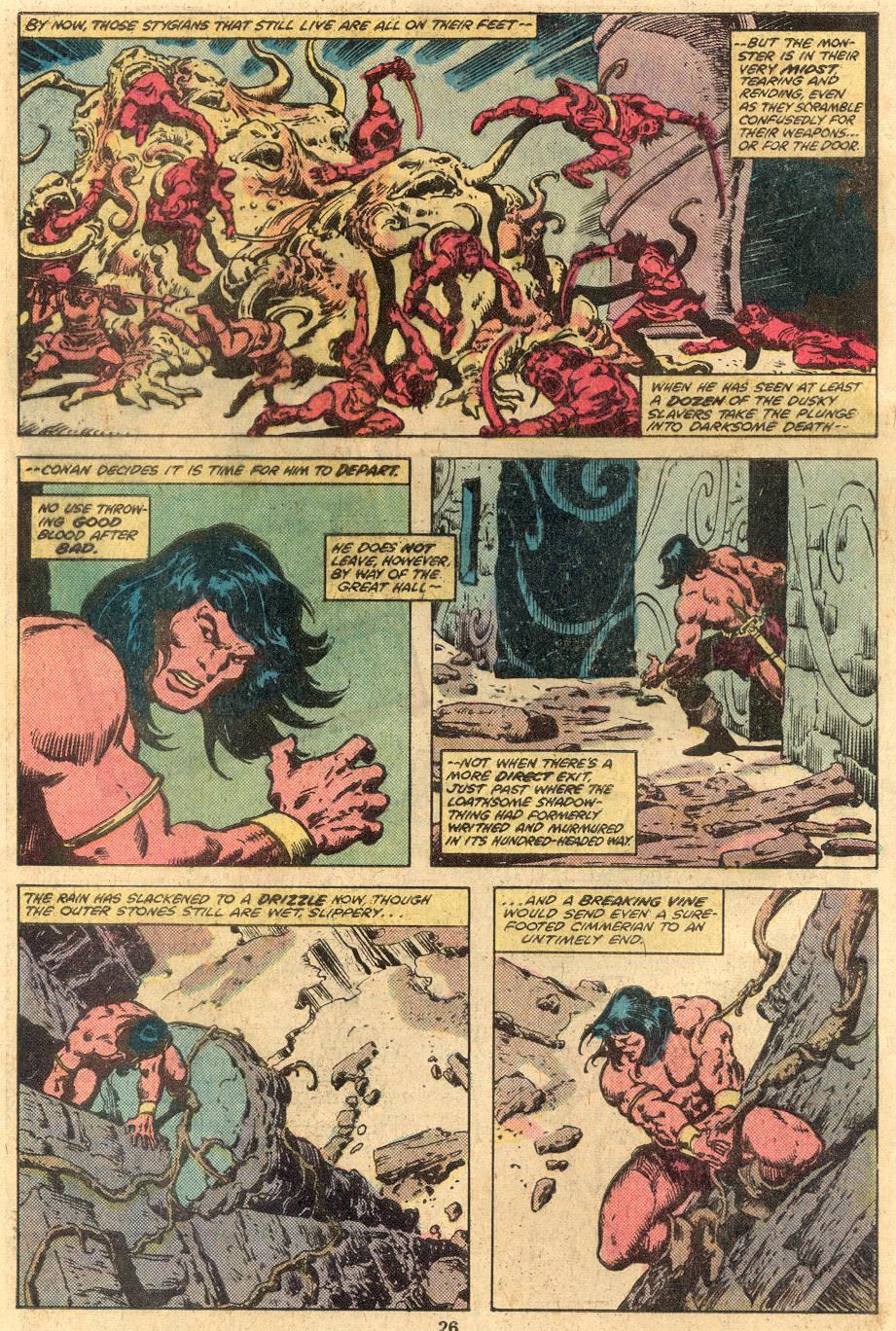 Conan the Barbarian (1970) Issue #105 #117 - English 16