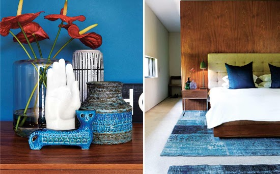 Safari Fusion blog | Moody blues | Splashes of blue in a modernist Johannesburg house, South Africa