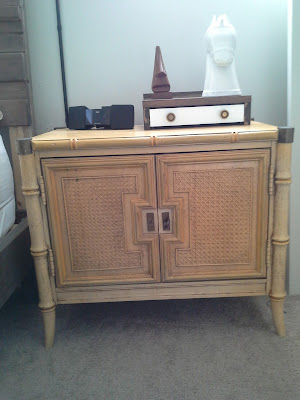 Hollywood Regency Nightstand