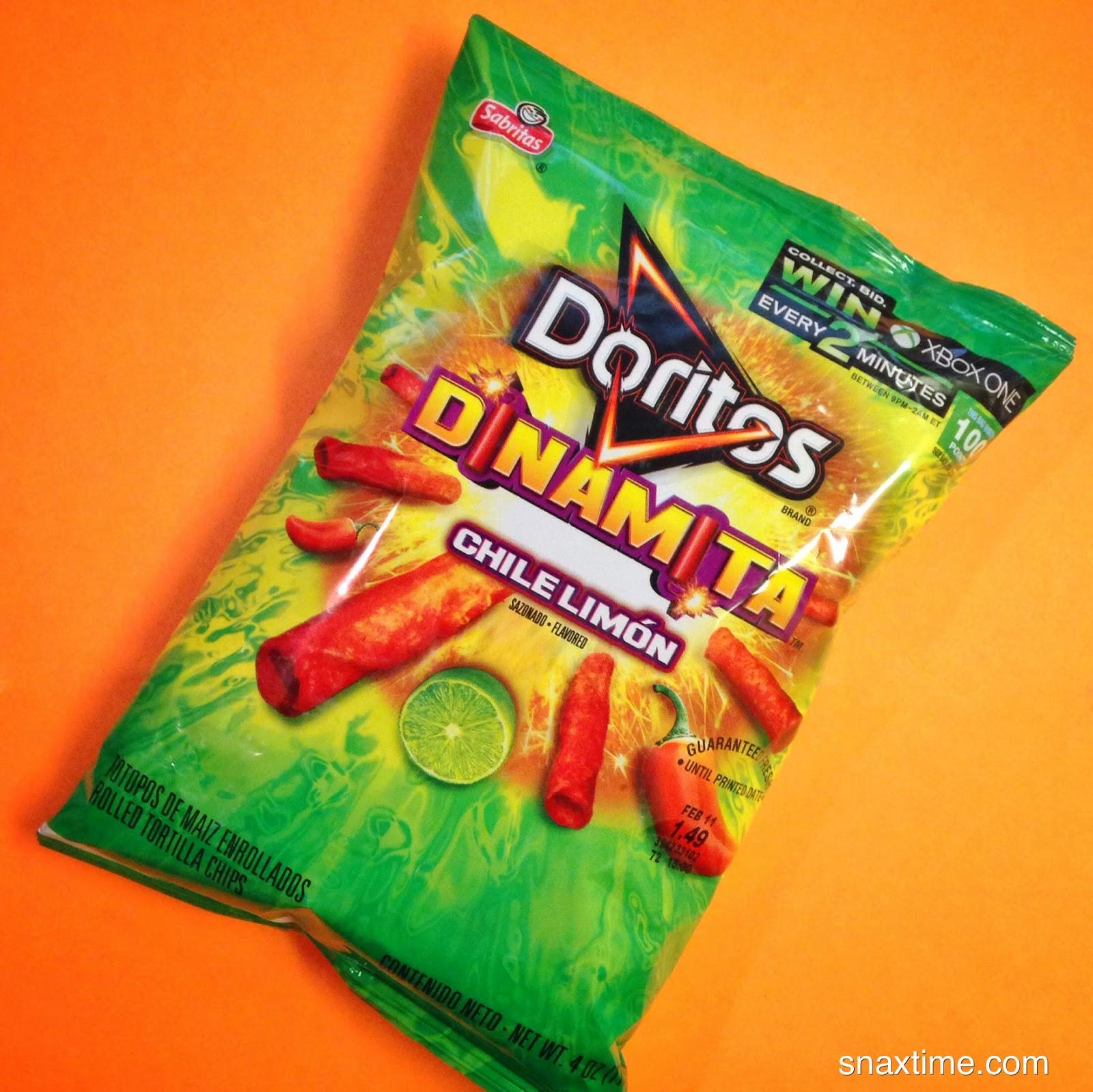 Doritos Dinamita Vs Takis Sabritas Doritos Dinam...