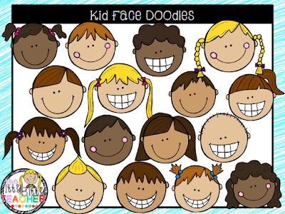 https://www.teacherspayteachers.com/Product/Clipart-Kid-Face-Doodles-1944585