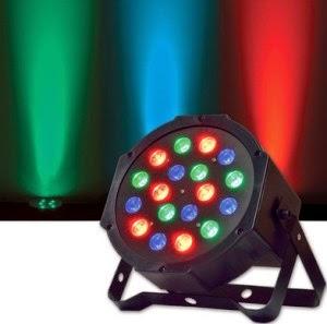 LUCES LED DMX