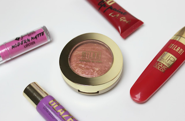 A picture of beauty products from Milani, L.A. Girl and Jordana available at Beauty Crowd