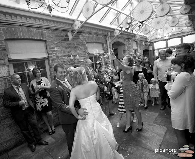 Browns Hotel devon wedding Picshore Photography