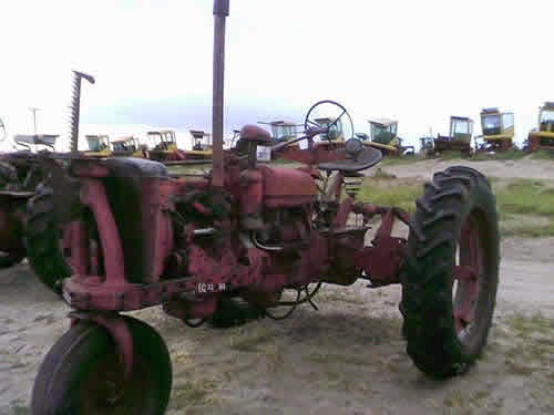 International H tractor parts