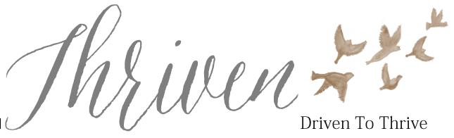 THRIVEN