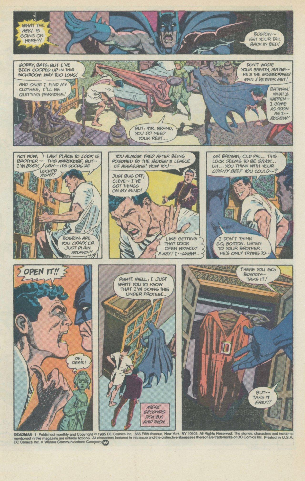 Deadman (1986) #1 #4 - English 3