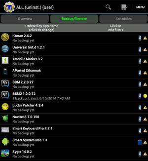 backup aplikasi pihak ketiga TiB