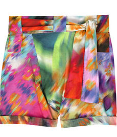 Rosa Cha Rainbow Cotton Shorts