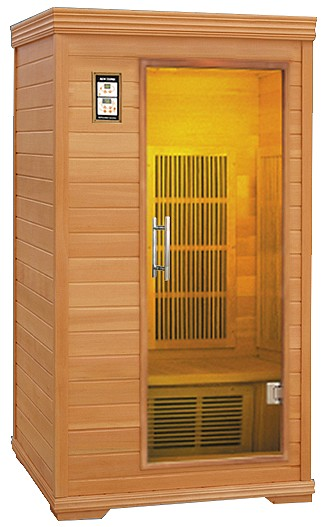 cabine sauna sante. Black Bedroom Furniture Sets. Home Design Ideas