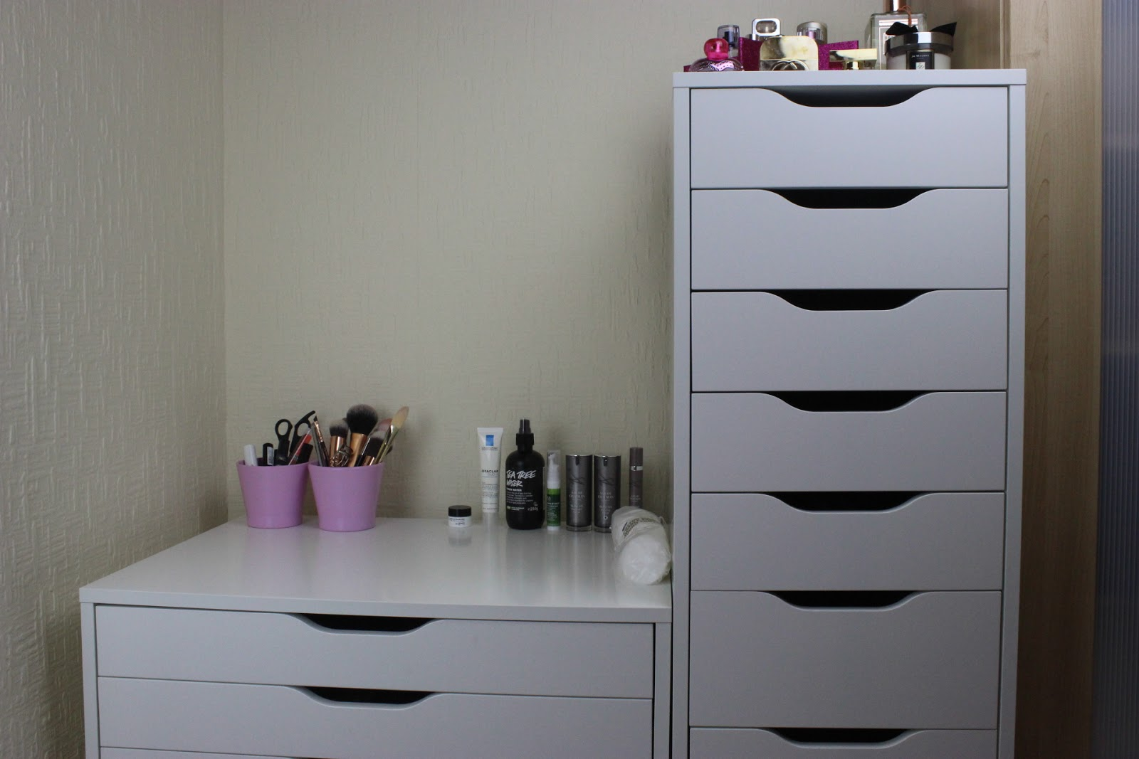 Ikea Alex Makeup Storage Home Design Ideas And Pictures
