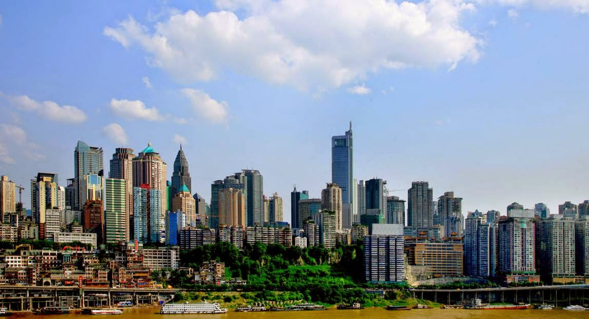 Tejido de empresas en China