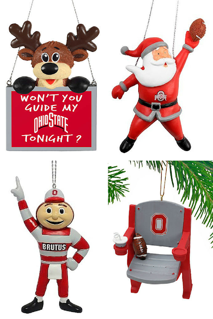 Ohio State Buckeyes ornament