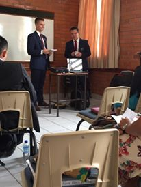 Teaching with Elder Pearson, 6/15
