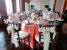 Sweetheart table with chiavari chairs