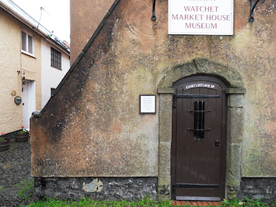 Tiny jail in Watchet Somerset used prior to 1800s