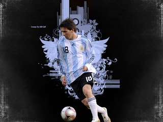 Lionel Messi Wallpapers 2012