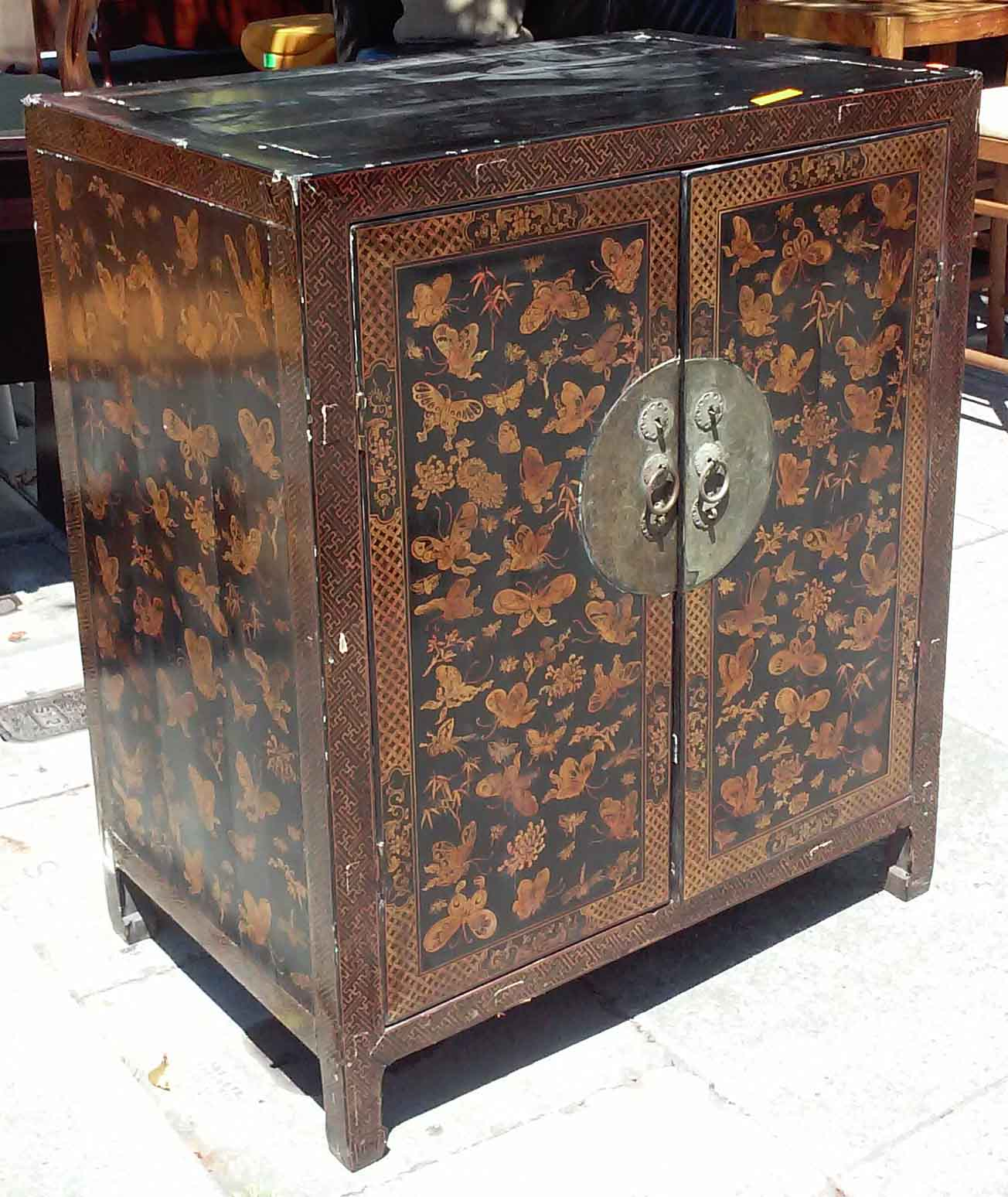 Uhuru Furniture Collectibles Sold Asian Butterfly