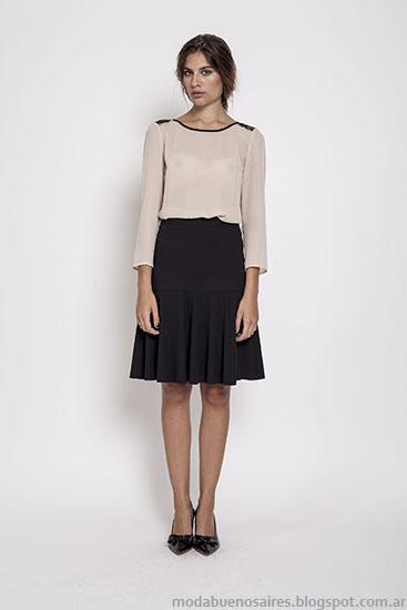 Moda faldas invierno 2015 ropa de mujer Janet Wise.