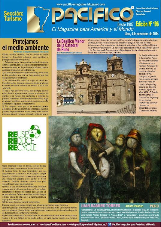 Revista Pacífico Nº 196 Turismo