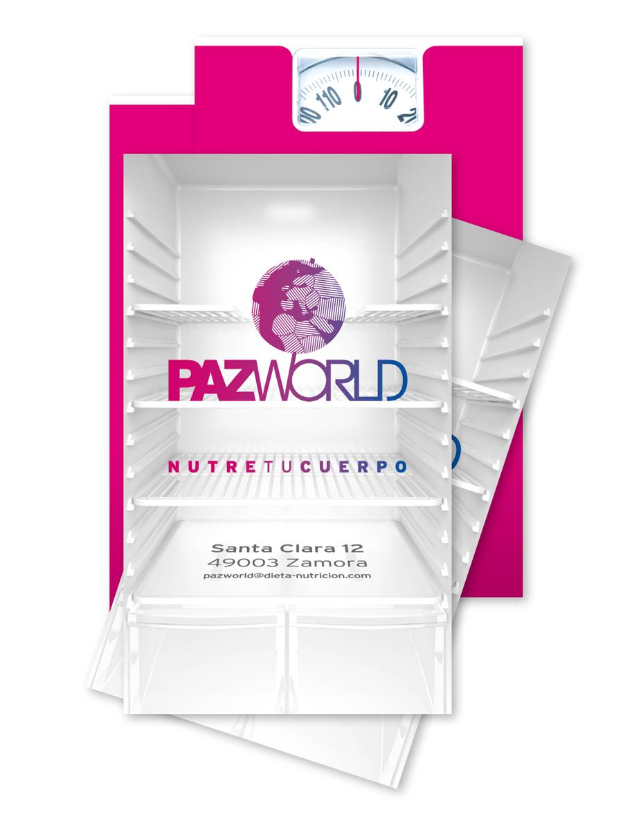 Tarjetas de visita. PazWorld