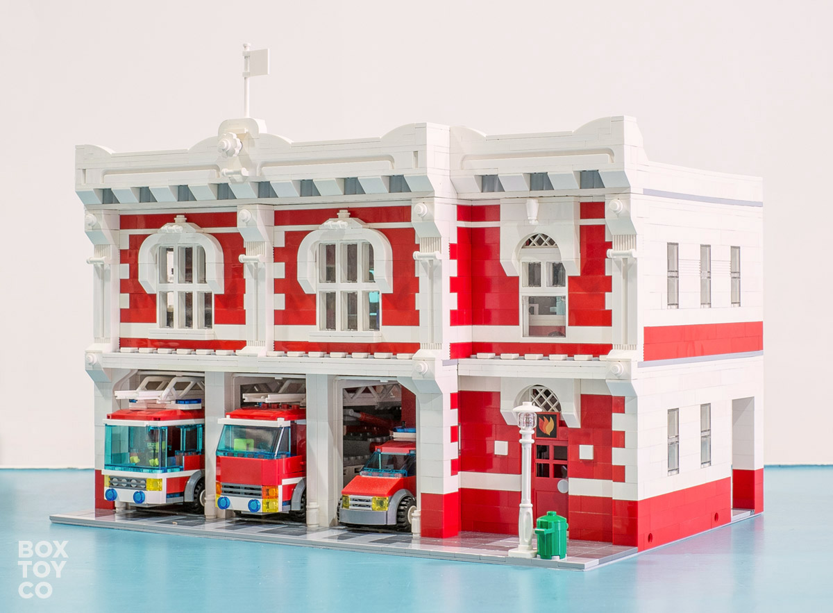 Lego Fire Station Instructions 10671