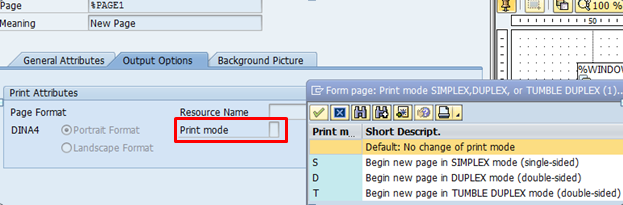 Duplex Print mode in Smartforms